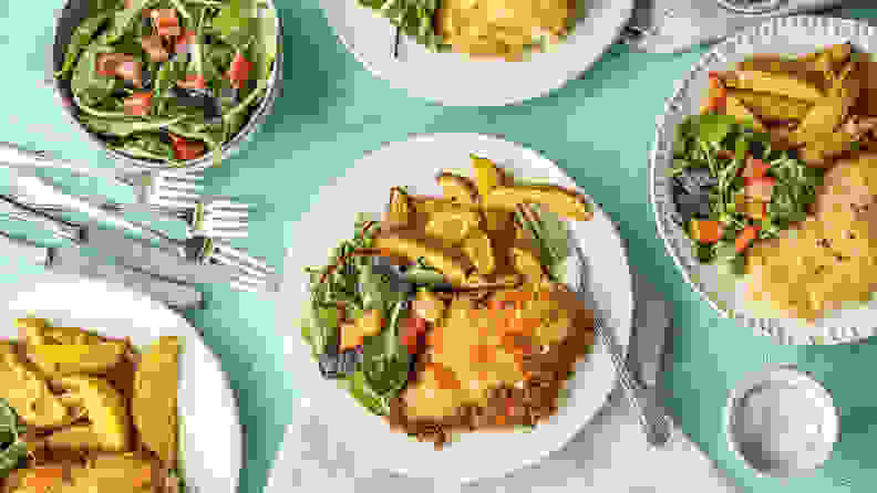 HelloFresh chicken dinner