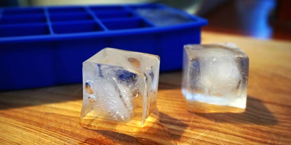 Bad tasting ice