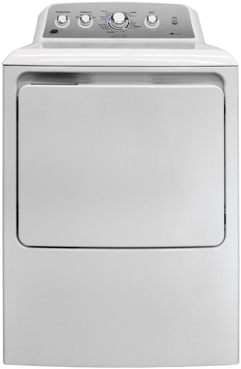 The GE GTD45EASJWS is one of the cheapest sensor dryers that you can find.