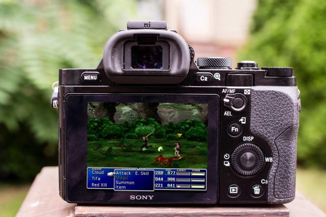 Sony A7S Final Fantasy