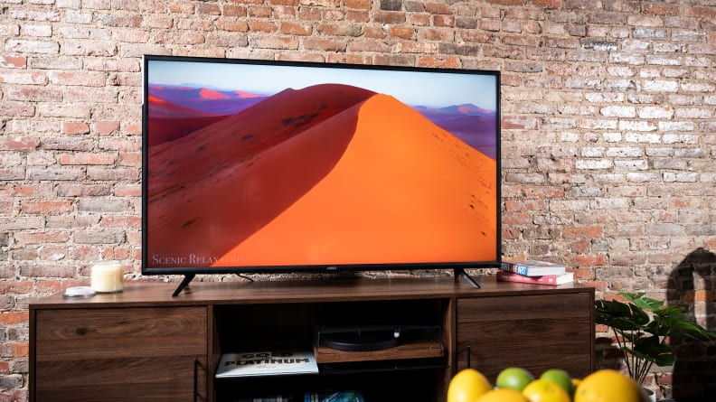 The 2021/2022 Vizio V-Series displaying 4K content in a living room setting