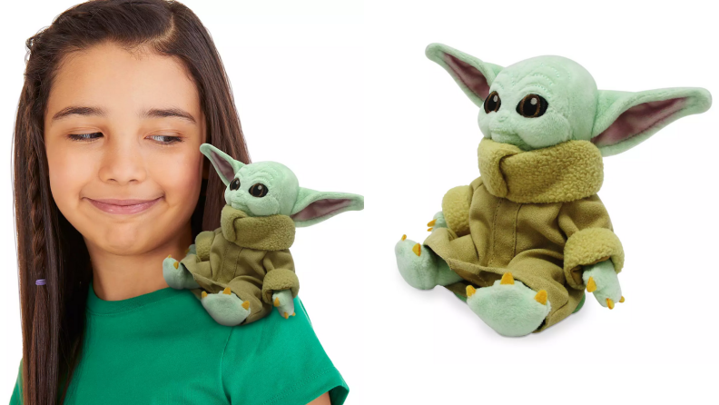 Baby Yoda shoulder plush
