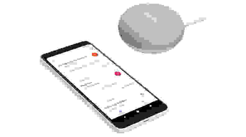 Google Home Mini Phone
