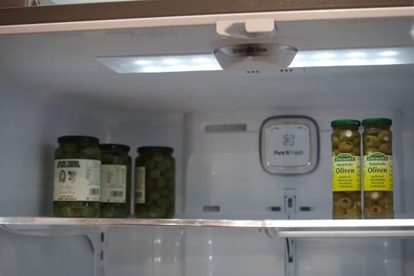 LG fridge camera