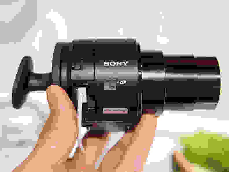 Sony Cyber-shot QX30 – Lens
