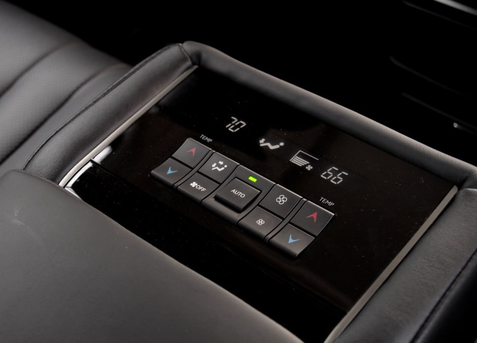 LX570 Rear Seat Climate Control