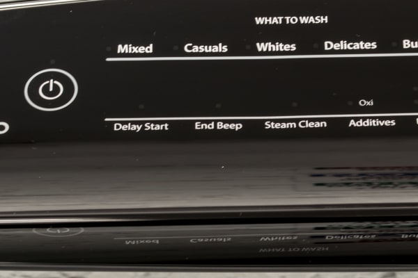 The What to Wash section looks a lot like the tradition cycle selection.