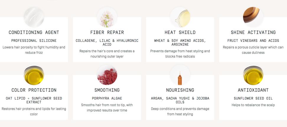 Prose Hair review - ingredients