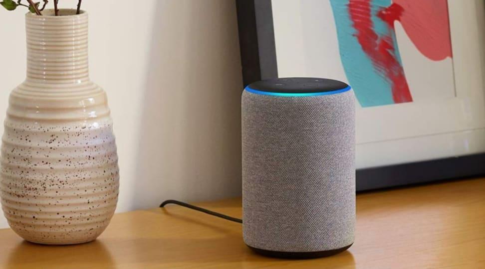 Amazon Echo on table