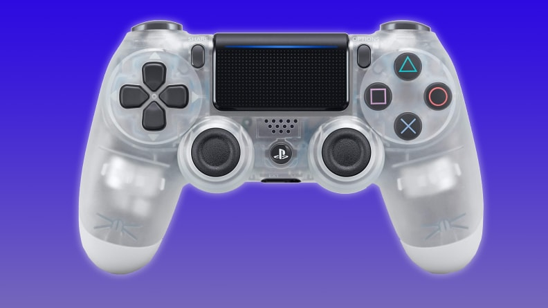 Sony PS4 Dualshock 4 Wireless Controller (Crystal)