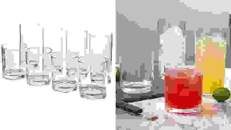US Acrylic Glassware Set
