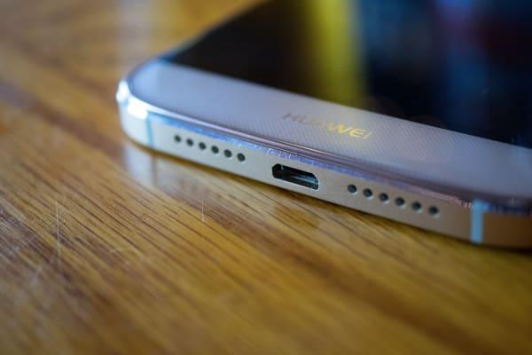 Huawei GX8 USB Port