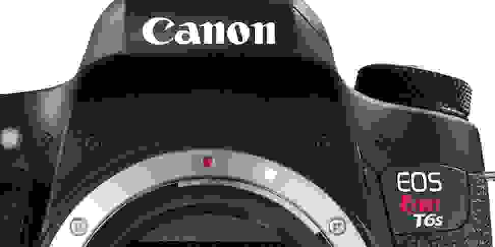 Canon's new T6S, one of two Rebel DSLRs set to launch this spring.