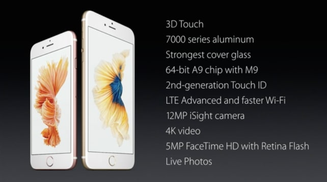 iPhone 6s Specs