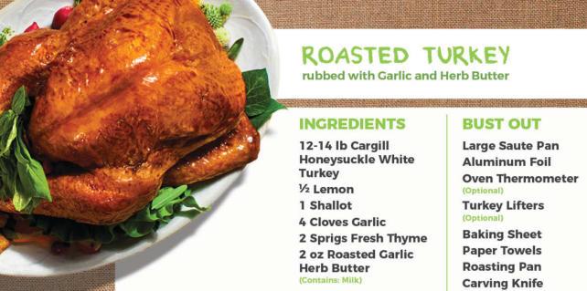 HelloFresh Thanksgiving - Turkey Recipe