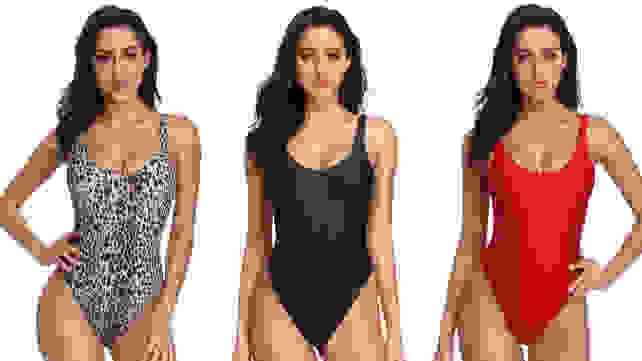 Dixperfect One-Piece Retro 90s bathing suit