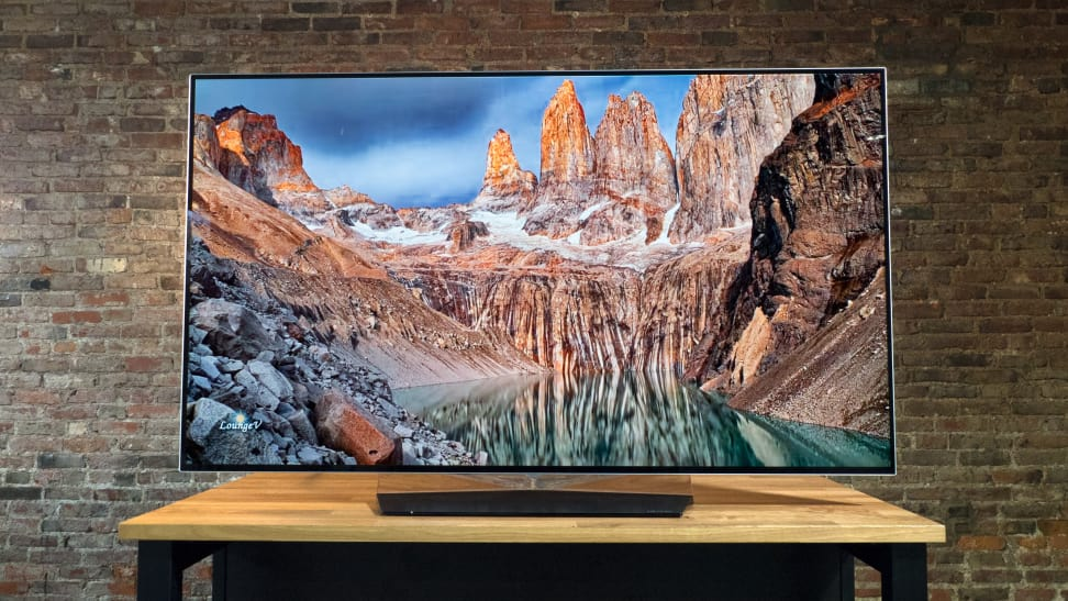 LG OLED55B7A with 4K Content 2