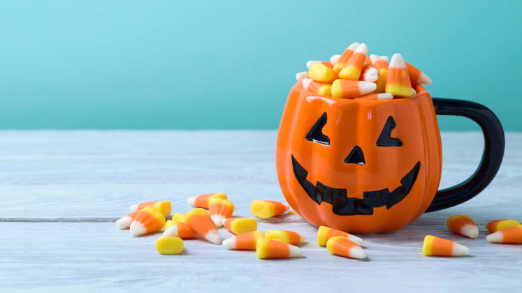 plus other ways to save money on goodies for trick or treaters