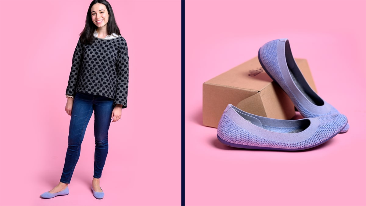 I tried Allbirds flats to see if they're as comfortable as the sneakers
