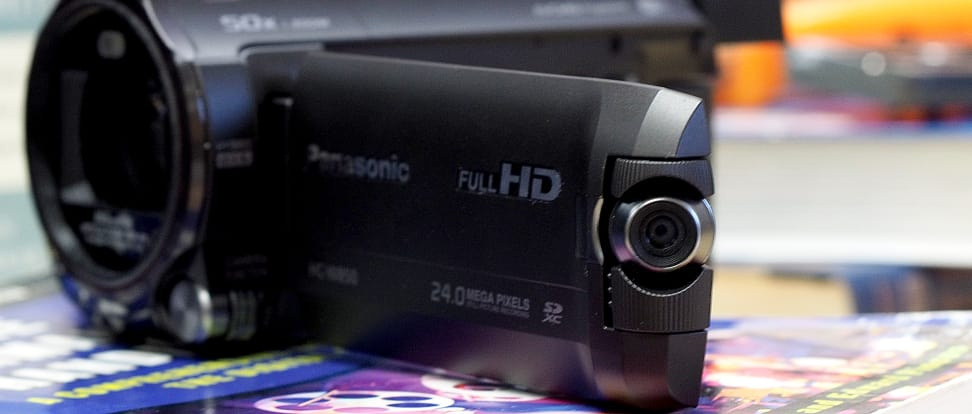 Product Image - Panasonic HC-W850 Twin Recording Camcorder