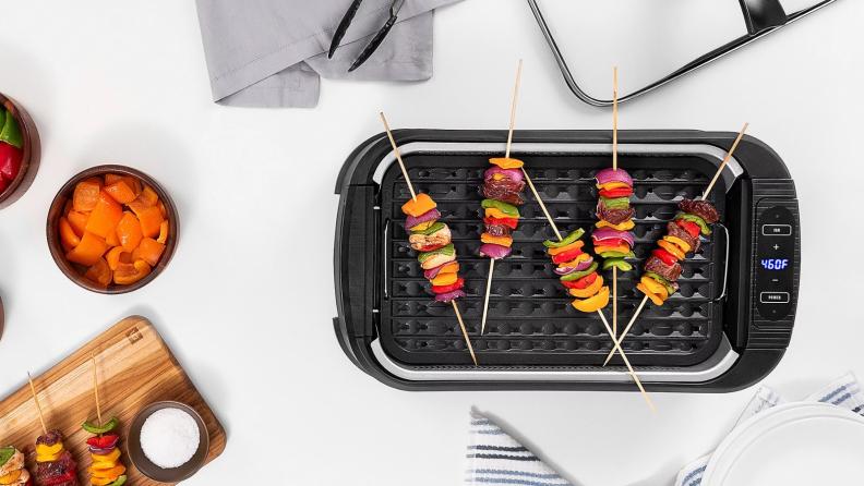 Smokeless grill