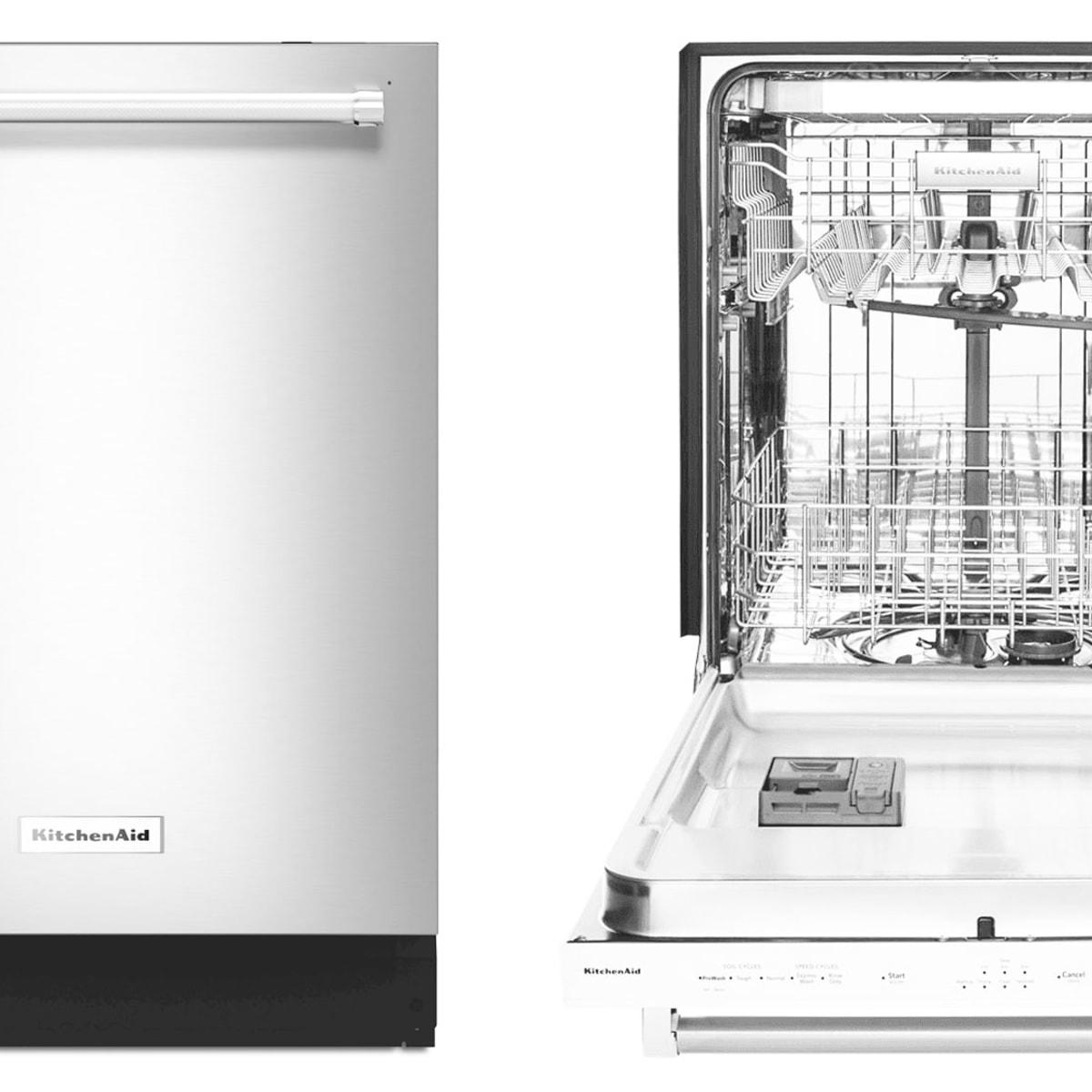 KitchenAid KDTE234GPS Dishwasher Review - Reviewed Dishwashers