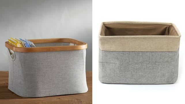 Collapsible Fabric Baskets