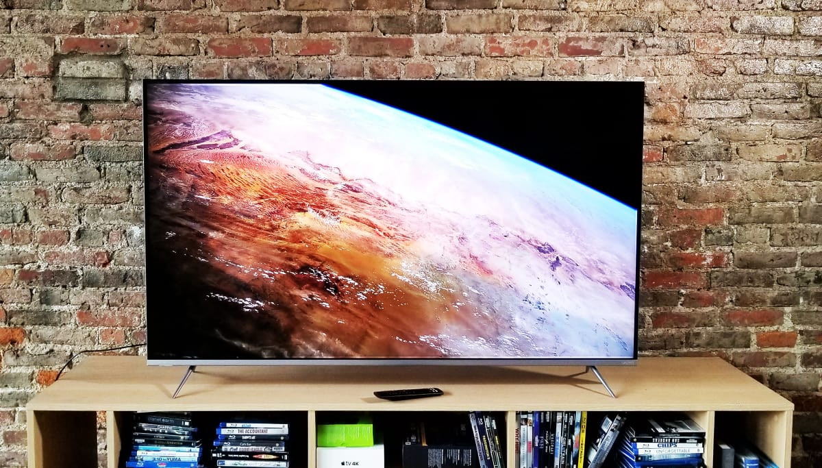 the best big screen tvs under 1 000 of 2018 televisions. Black Bedroom Furniture Sets. Home Design Ideas
