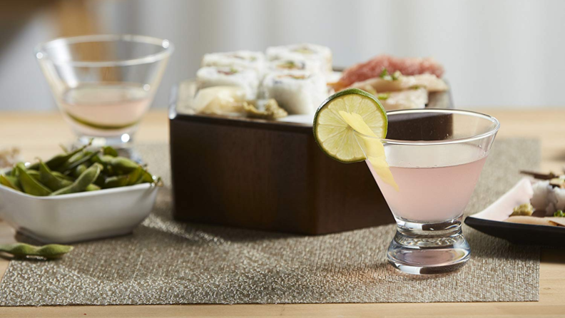 Libbey drink glass