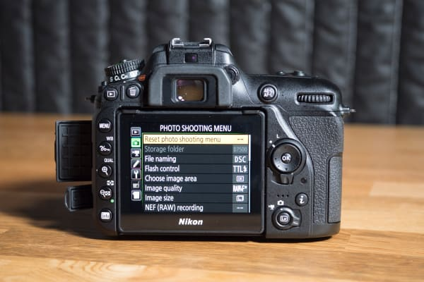 The D7500's menu isn't the most intuitive, but it's identical to every other Nikon DSLR.