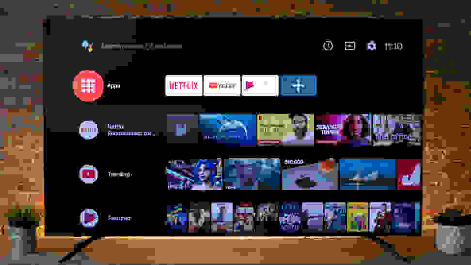 Hisense H8F Android TV Smart Platform