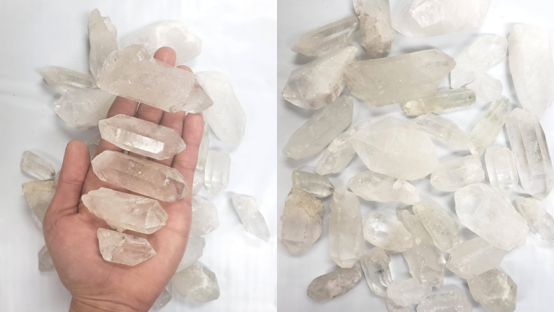 Clear stones