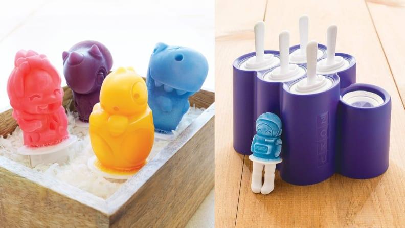 Zoku ice pop molds
