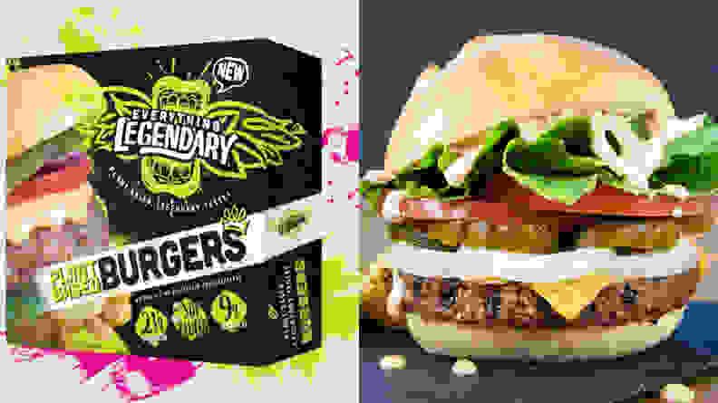 Legendary burgers
