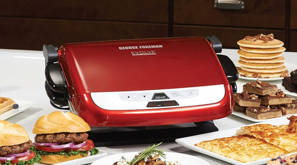 Don't miss your chance to grill this summer—this George Foreman countertop grill is only $72 right now