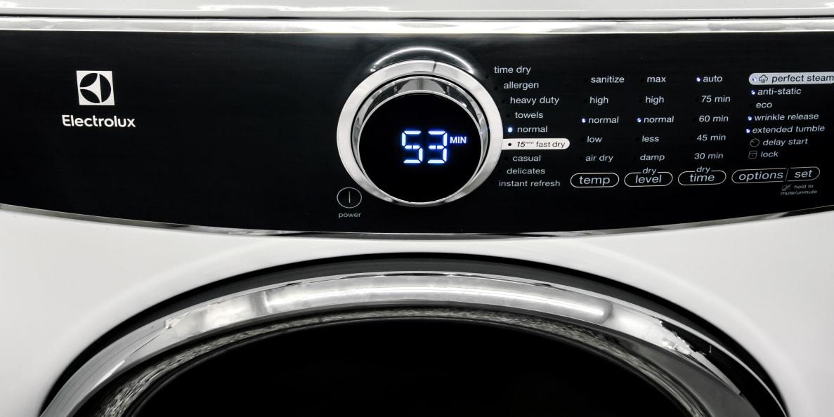 Electrolux EFME617SIW Electric Dryer