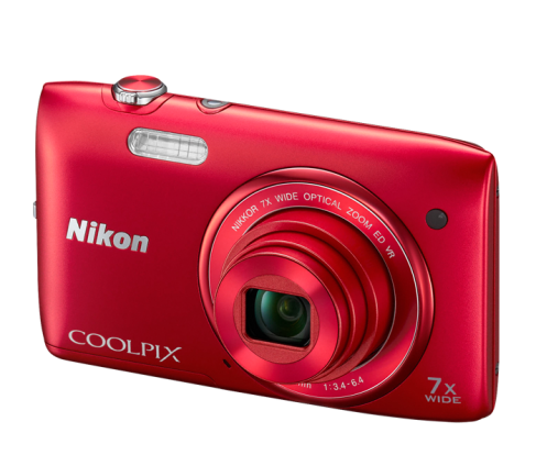 Product Image - Nikon Coolpix S3500