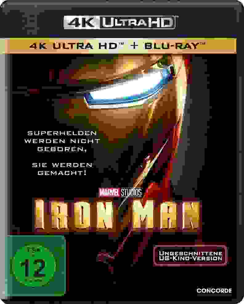 Iron Man 4K HDR Blu-ray