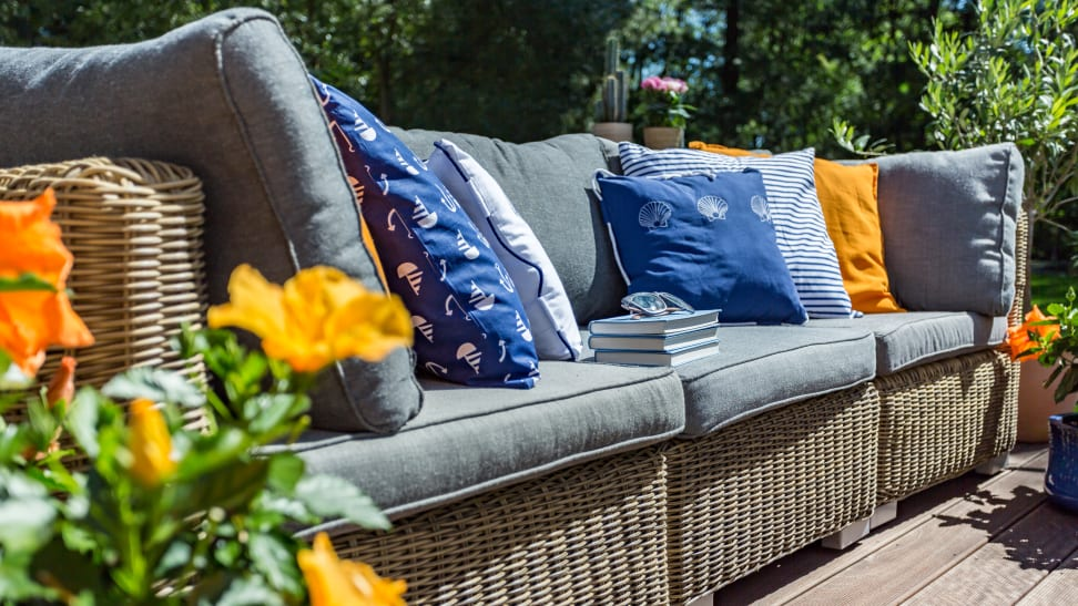Keep your outdoor furniture looking and smelling nice