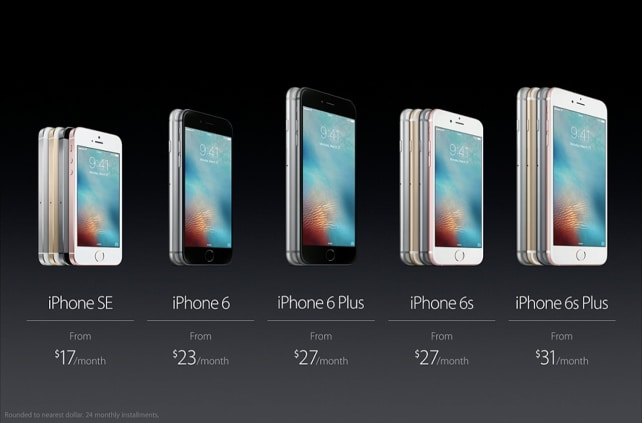 Apple iPhone SE Pricing Breakdown