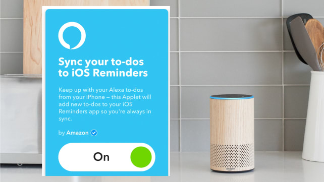 Amazon Echo IFTTT Applet