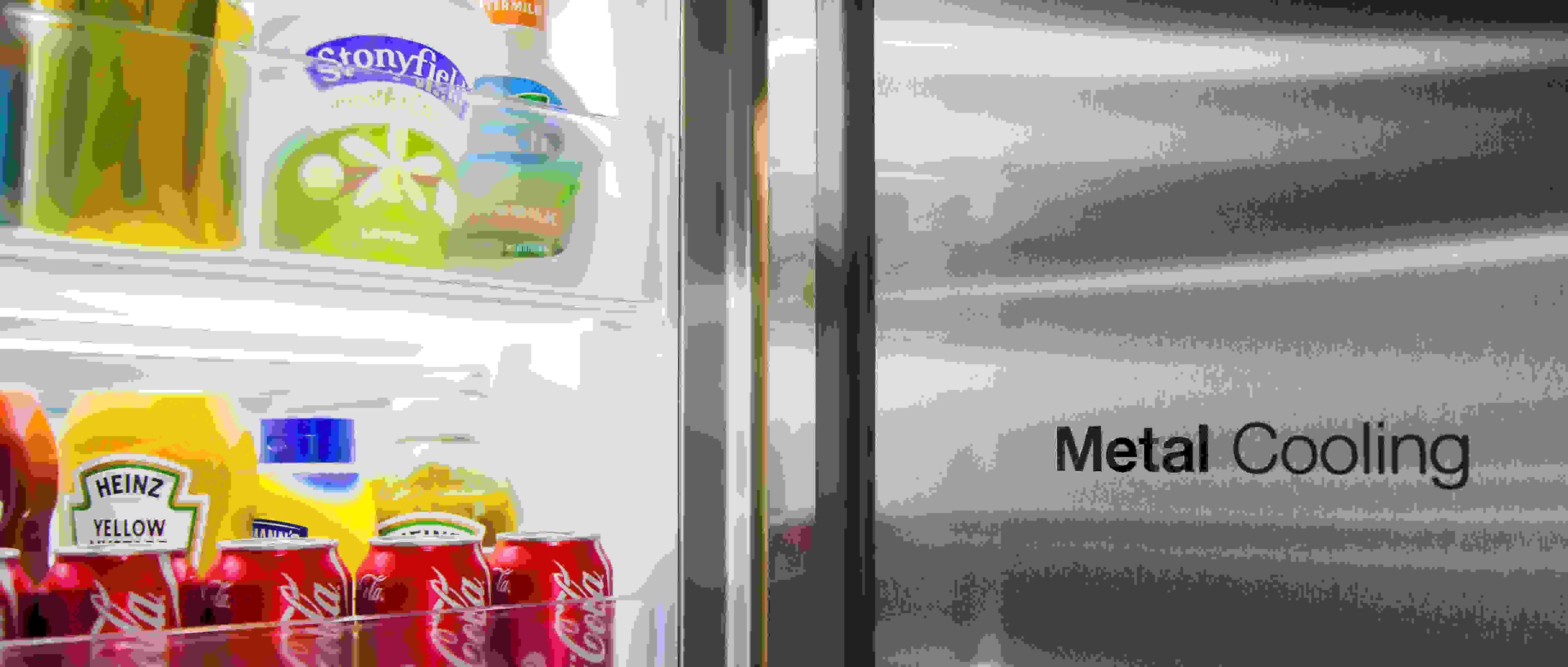 Samsung RH29H9000SR Food Showcase Door in Door Side by Side Refrigerator