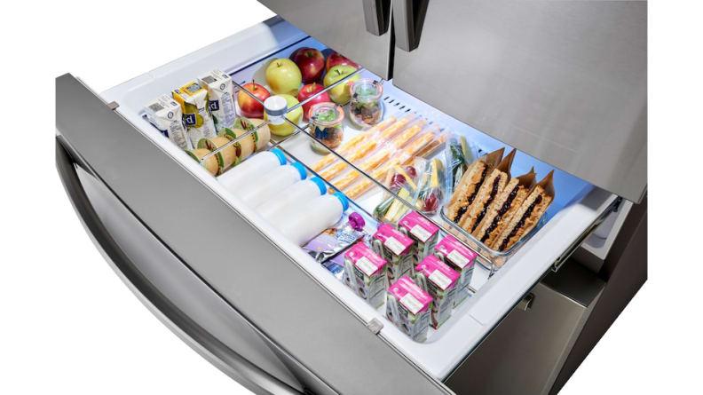 Samsung-RF28R7201SR-FlexZone-cold-drawer
