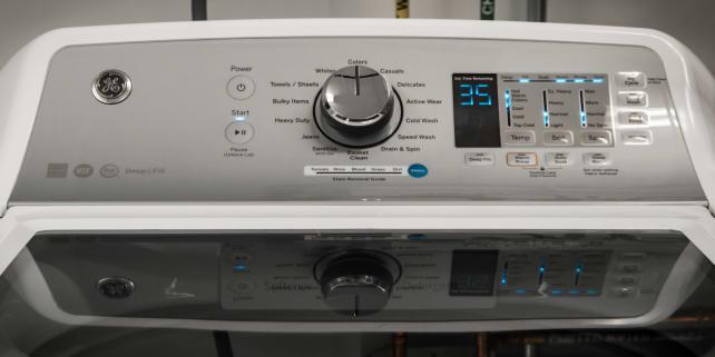 The GE GTW680BSJWS washing machine