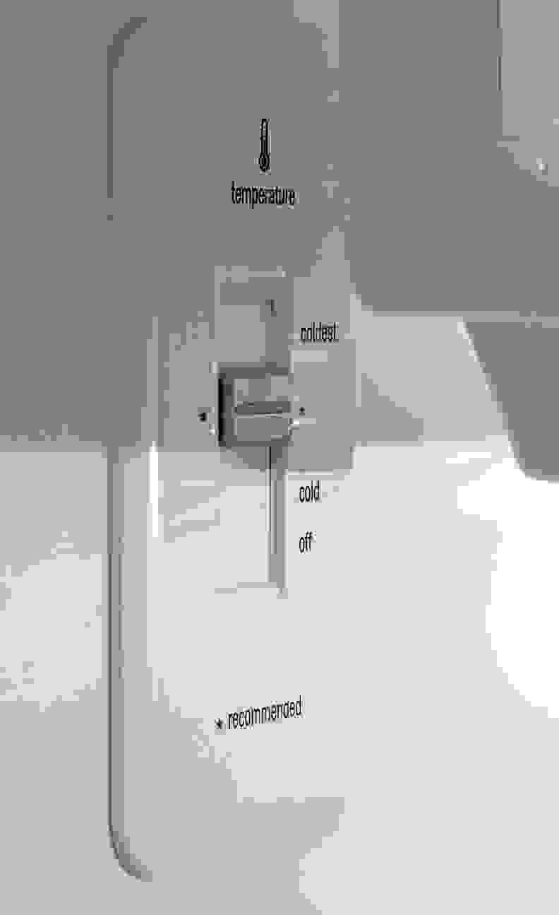 Frigidaire Gallery FGHI2164QF Controls