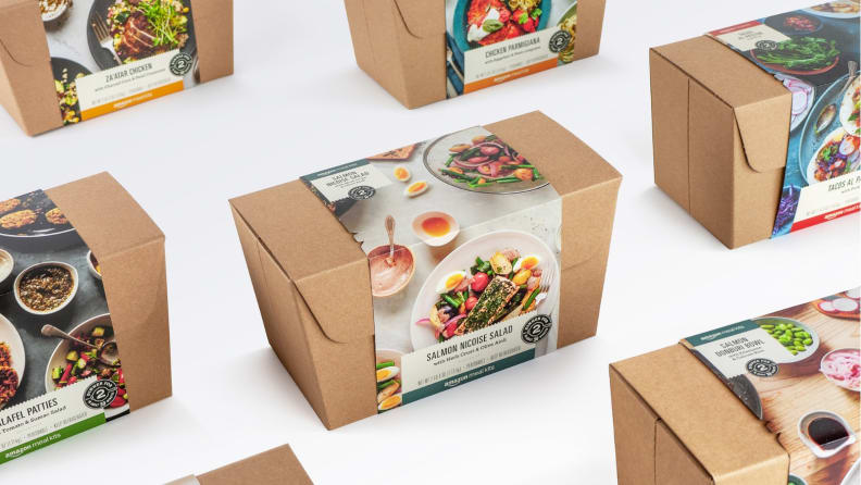 Amazon Meal Kit Boxes