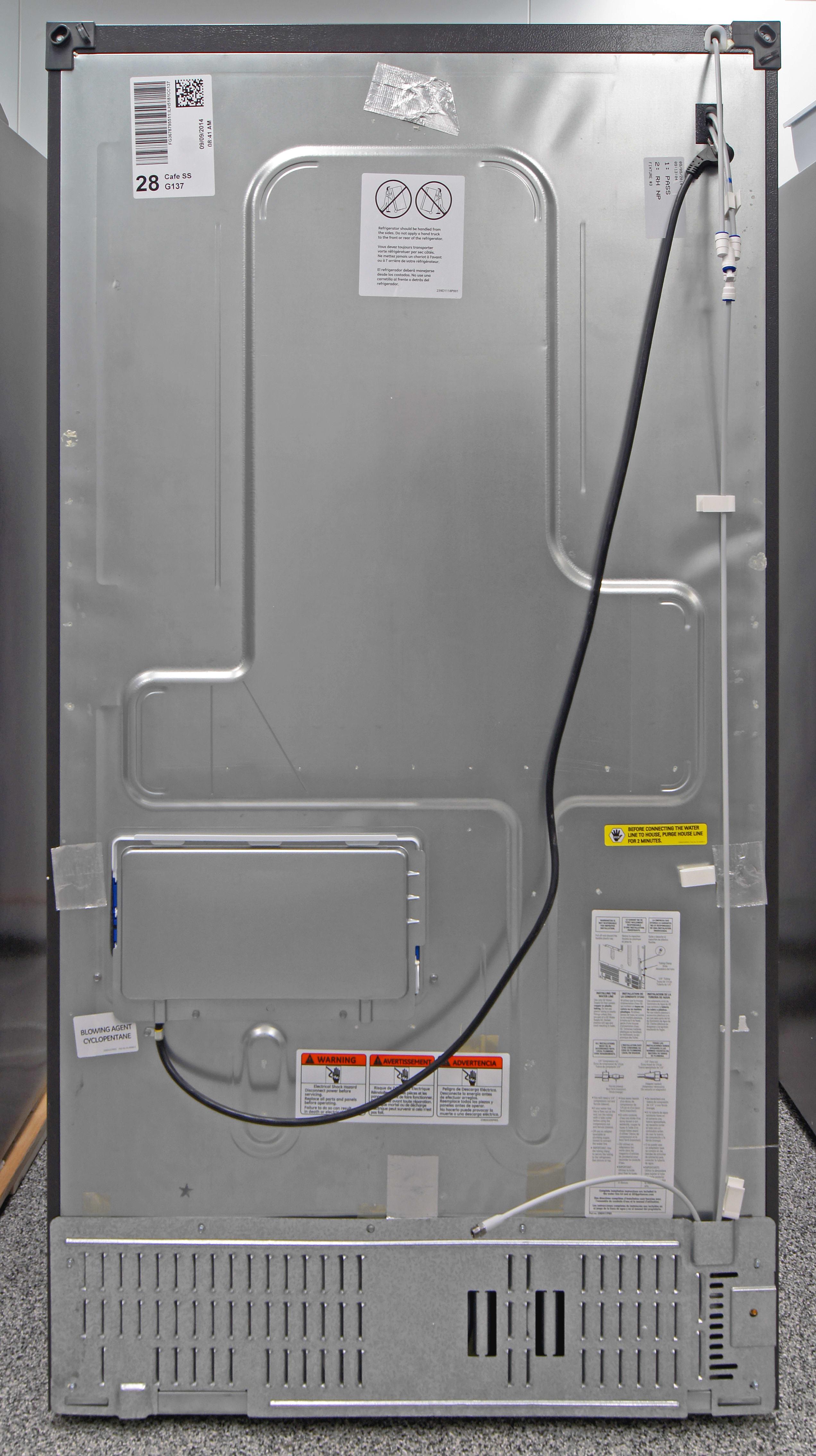 GE Caf CFE28TSHSS Refrigerator Review Reviewedcom Refrigerators