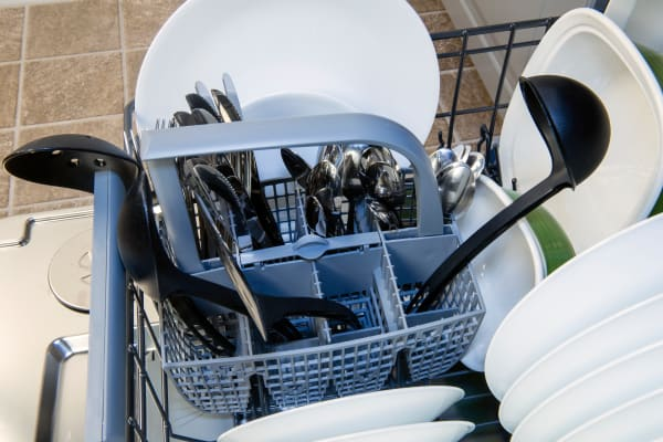 Asko D5534XXLFI cutlery basket capacity test
