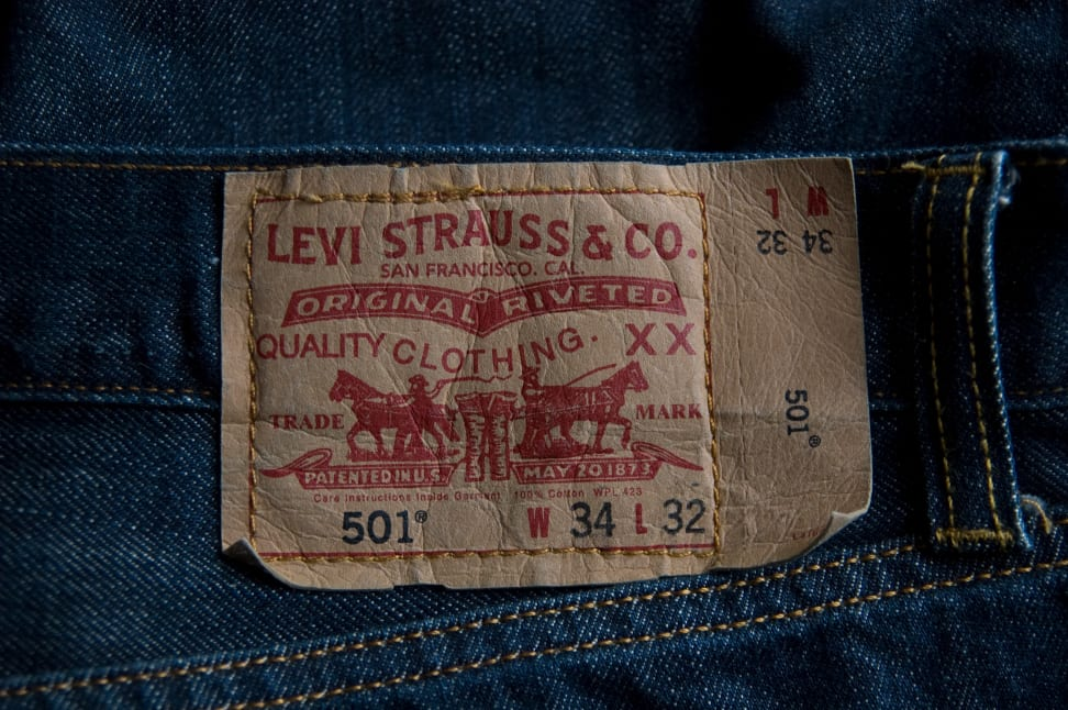 Levi Strauss jean label