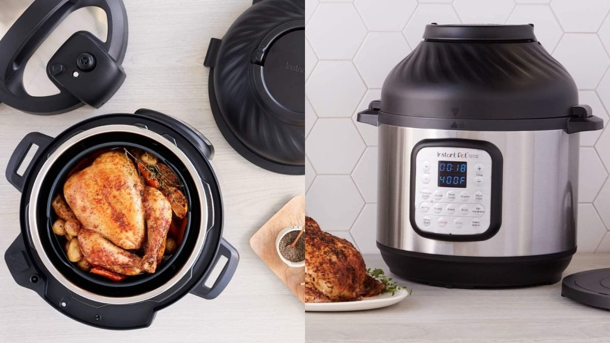 The top-rated Instant Pot air fryer is $70 off!